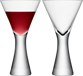 LSA International Moya Wine Glass (2 Pack), 13.3 fl. oz., Clear