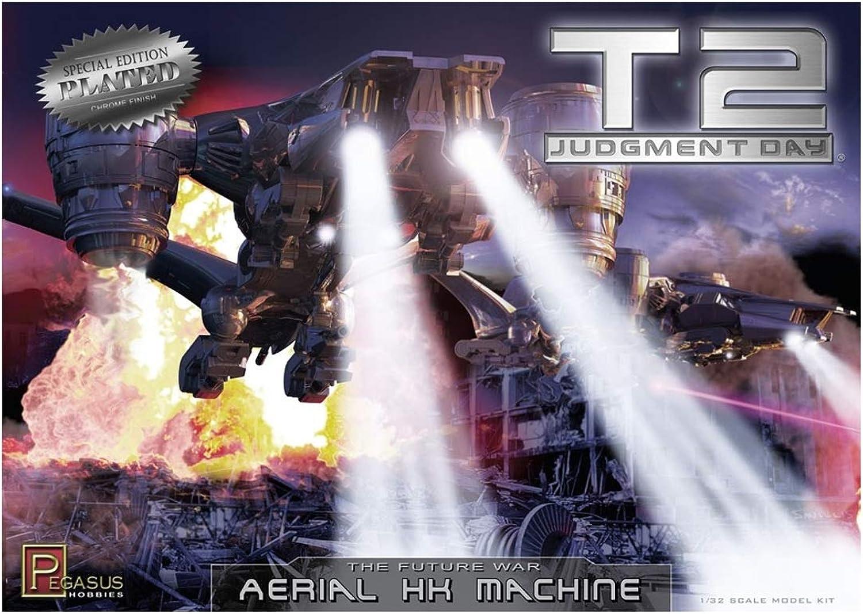 Pegasus PG9216 Fahrzeug1 32 Terminator 2T2 AerialHunter Killer, verchromt