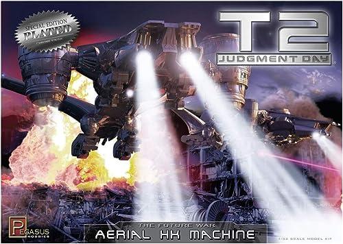 Pegasus PG9216 Fahrzeug-1 32 Terminator 2-T2 AerialHunter Killer, verchromt