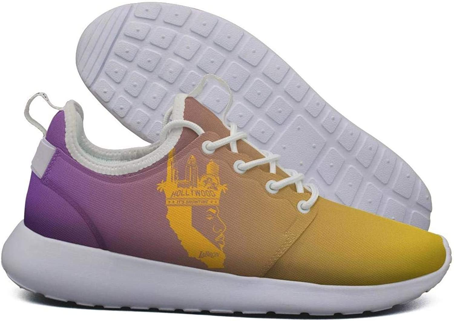 Womens Roshe Two Lightweight Yellow_Basketball_23_Crown_Kings_LA Cute Road Running mesh shoes