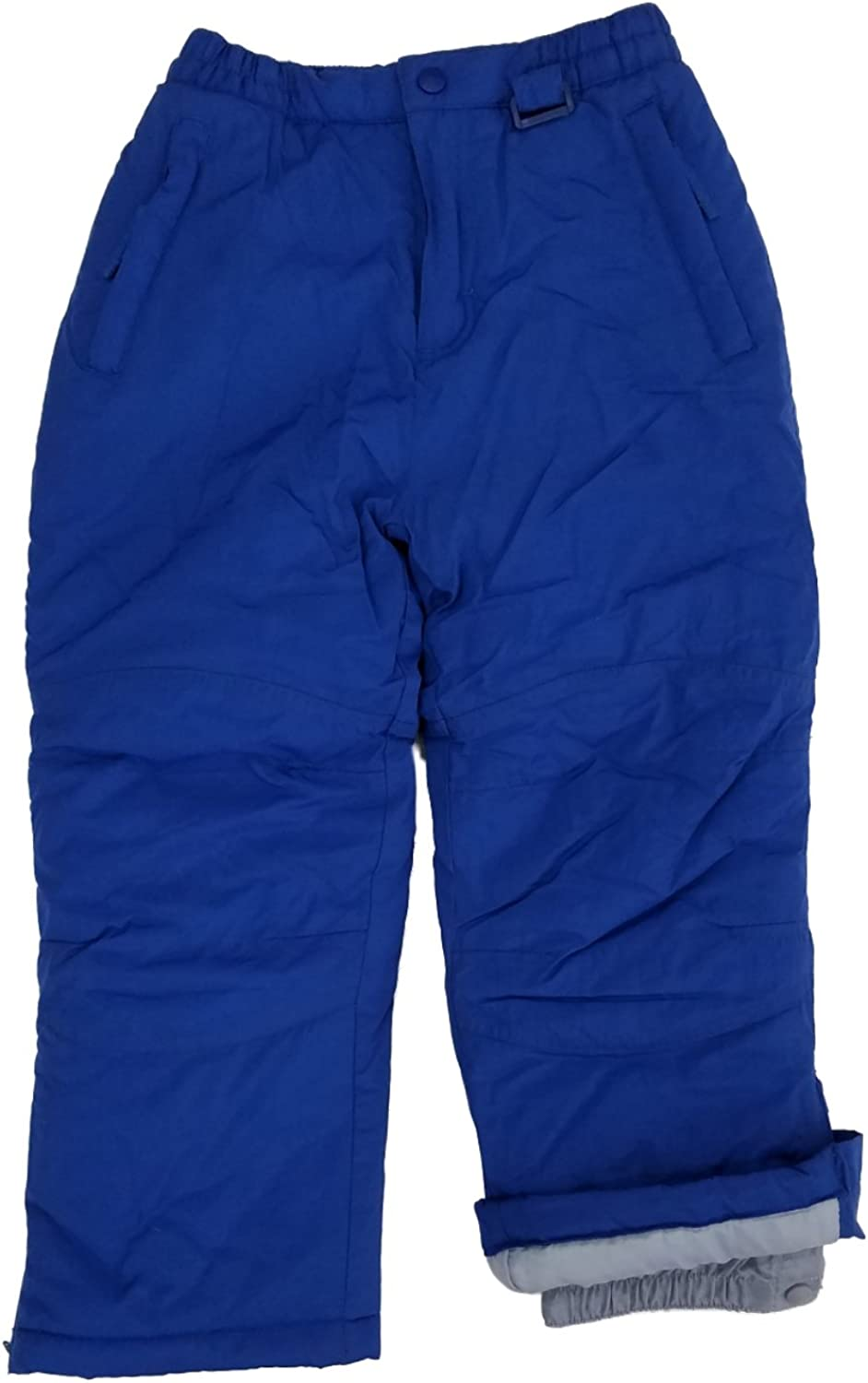 Athletic Works Girls Royal Blue Wind Resistant Insulated Ski Snow Pants Large 12-14