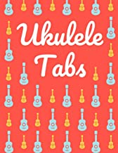 Ukulele Tabs: Stylish Blank Sheet Music Notebook with Pretty Pink & Blue Ukuleles Pattern | Learn How to Play Ukulele Songs & Chords | Write Down Your ... Write in | Blank Sheet Music Paper Tablature