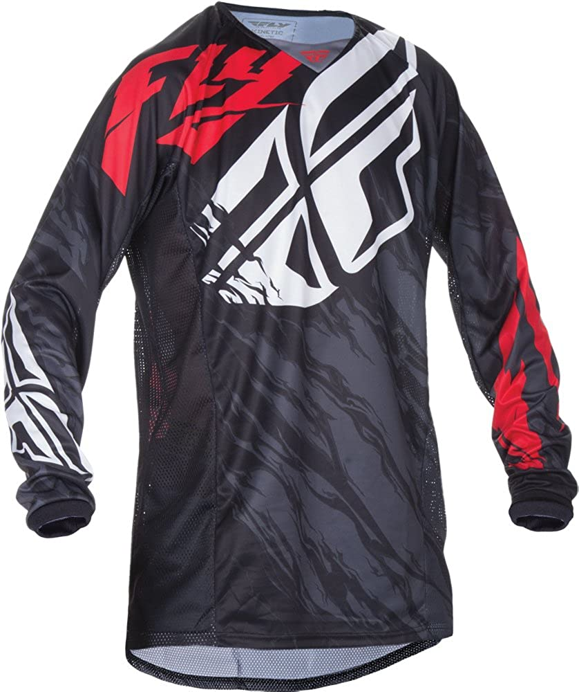 Fly Translated Racing Unisex-Adult Kinetic Relapse Black 2021new shipping free shipping Red XX-La Jersey