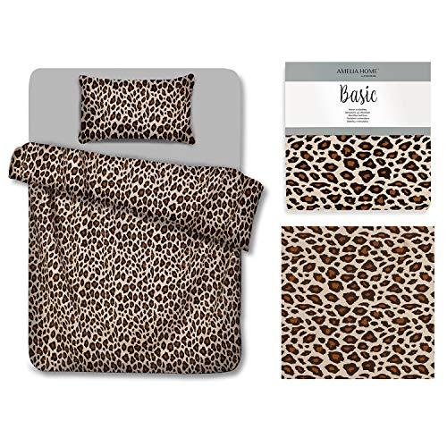 AmeliaHome Basic Collection Ropa de cama de microfibra con cremallera