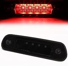 For Jeep Grand Cherokee WJ Rear Hight Mount LED 3rd Third Tail Brake Light (Black Housing Smoked Lens)