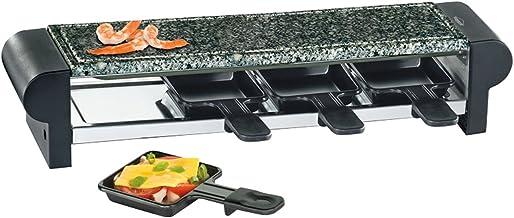 Küchenprofi Raclette Hot Stone Quattro Noir