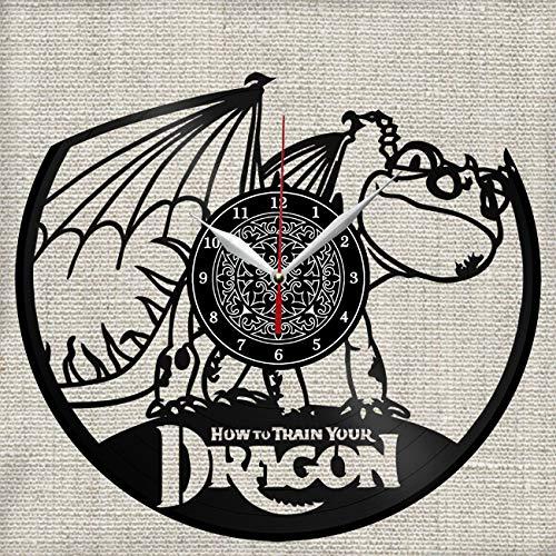 Vinilo Como Entrenar A Tu Dragon  marca Great Clock