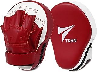 【名門ジムでも愛用】パンチングミット パンチング グローブ ミット ボクシング TRAN キックボクシング 格闘技 空手 テコンドー 練習用 2個セット フリーサイズ