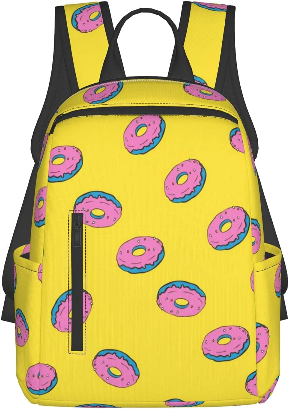 Lightweight School Backpack for Men Donut Ye Teens Cartoon Manufacturer Bombing free shipping direct delivery Women