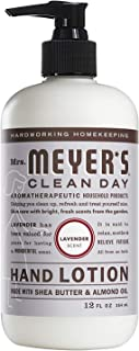 Mrs. Meyer's Clean Day Hand Lotion, 12 oz (Pack – 1, Lavender)