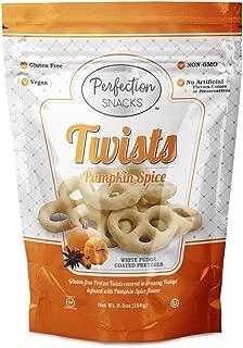 Perfection Snacks Gluten Free Covered Pretzels (Pumpkin Spice, 6 count / 5.5oz)