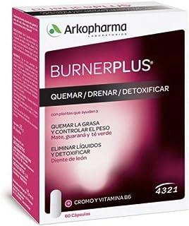 ARKOPHARMA BURNERPLUS 4321 60 Caps. Guarana, Mate And Green Tea Treatment Skincare Products