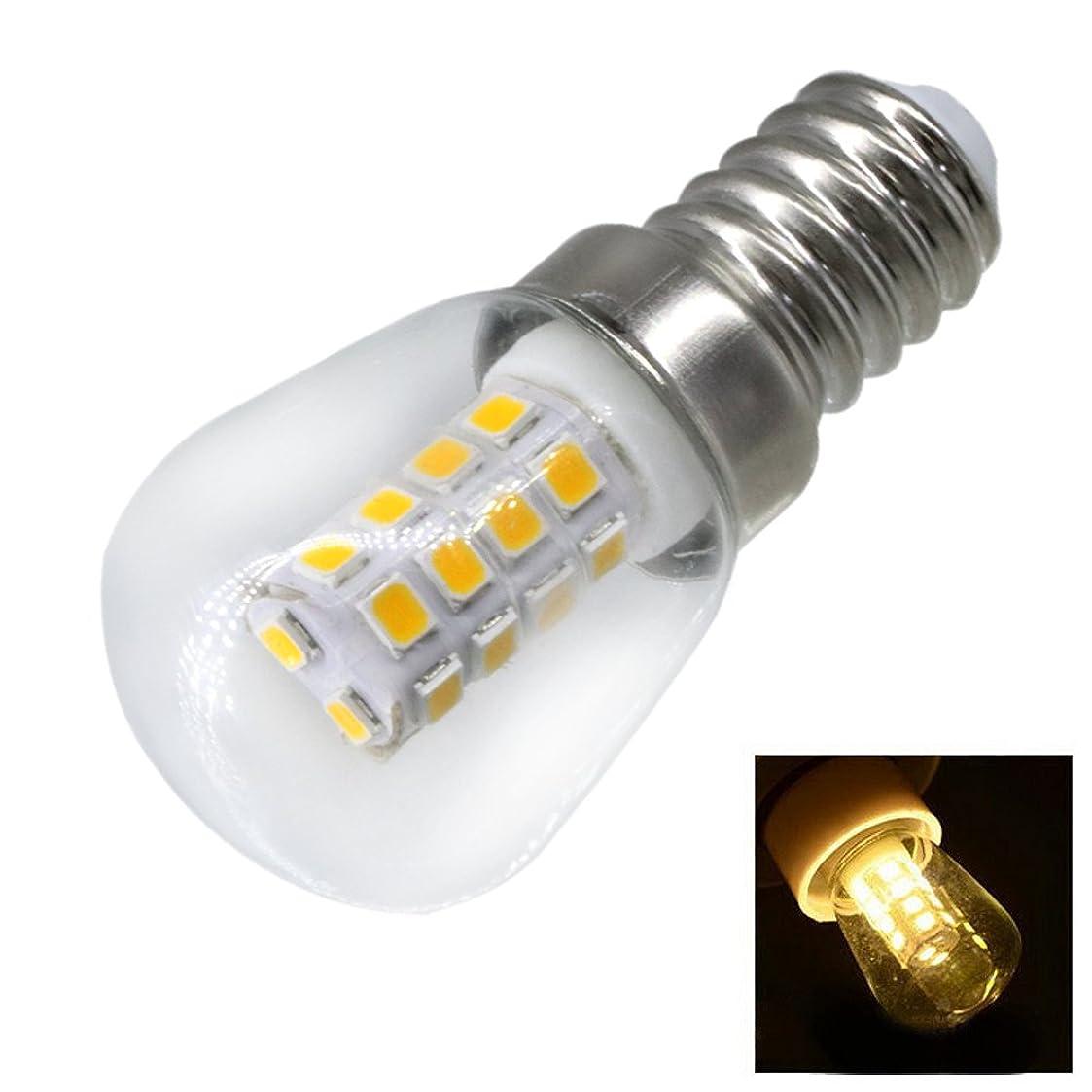 移植着実に驚くばかり2W E14 冷蔵庫LED電球 AC220V 明るい屋内ランプ 冷蔵庫 冷凍庫クリスタルシャンデリア照明用, (サイズ : 冷たい白)