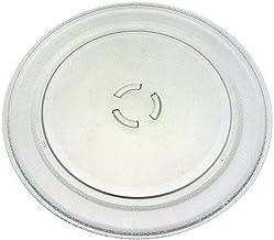 Plato de cristal de 36 cm de diámetro – Horno microondas – Whirlpool BAUKNECHT, KITCHENAID, IKEA WHIRLPOOL, IGNIS