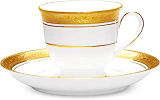 Noritake Crestwood Gold After Dinner Cup and Saucer