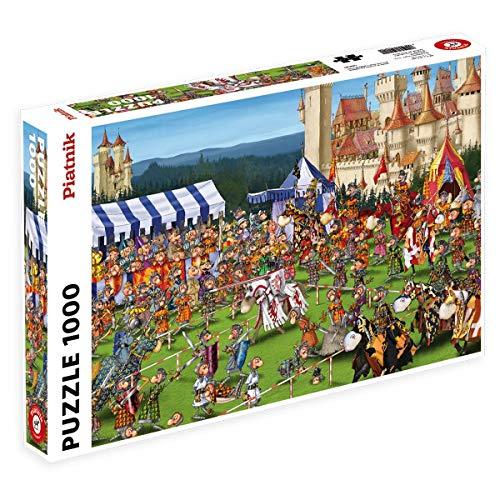 Piatnik 5440 - Puzzle Ruyer - Ritterspiele 1000...