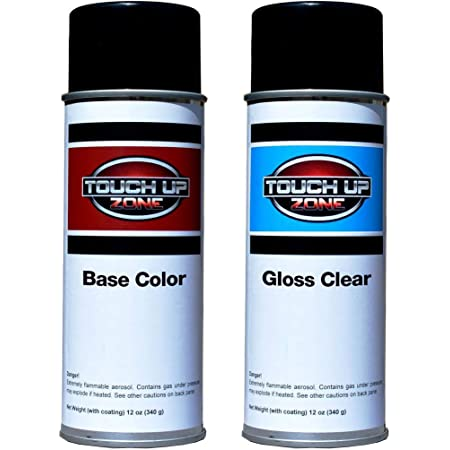 Touch Up Zone Aerosol Paint and Clear - Toyota Sunset Bronze Mica Code 4U3