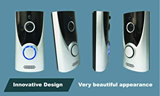 Step on New WiFi Doorbell Video Intercom with 720P HD Security Camera Real-Time Video and 2-Way Talk Night Vision PIR Motion Detection APP Control, with Chime & Micro SD (16)