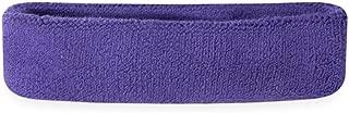 purple basketball headband