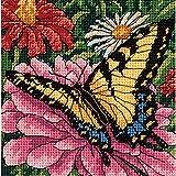 Dimensions Kit Aiguille Motif Papillon Floral