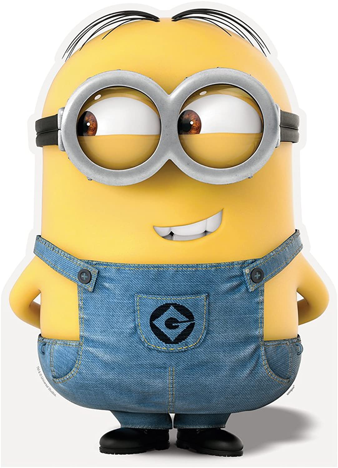 31  Large Cardboard Cut-Out Despicable Me Minion Decoration, Dave