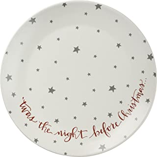 Primitives By Kathy T'was The Night Before Christmas Accent Plate
