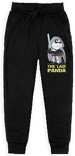 Yuanmeiju The Last Panda Boys Pantalones Deportivos,Pantalones Deportivos for Teens Boys Girls