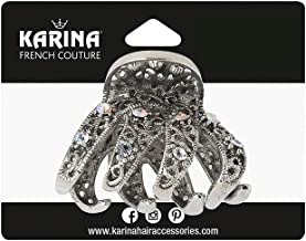 Karina Sonnet Rhinestone Claw Clip
