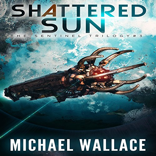 Shattered Sun audiobook cover art