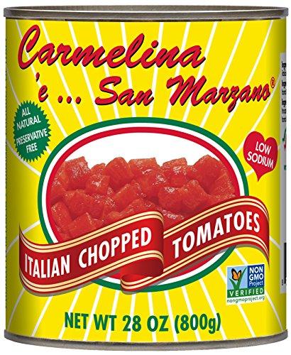Carmelina San Marzano Italian Chopped Tomatoes in Puree