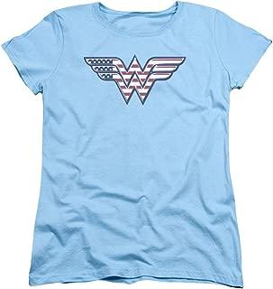 wonder woman american flag shirt