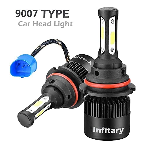 INFITARY LED Headlight Bulbs 9007 Hi/Lo Conversion Kit,All-in-One