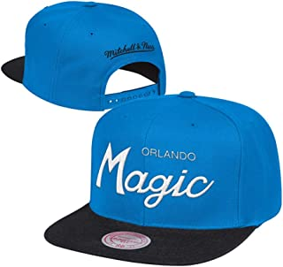 mitchell and ness magic snapback