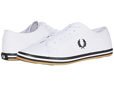 Fred Perry Kingston Twill (White/Black) Men