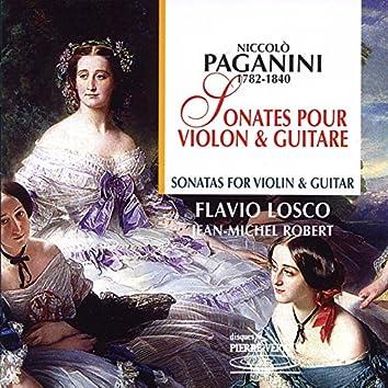Paganini : Sonates pour violon & guitare