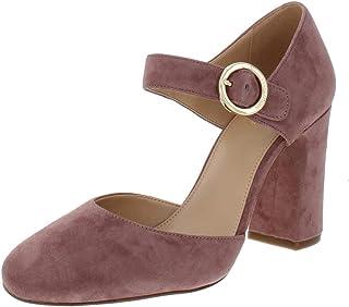 Womens Alana Closed Toe Leather Round, Dusty Rose, Size 9.5