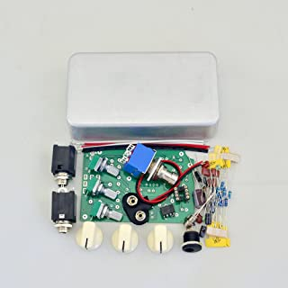 DIY Distortion Guitar Effect Pedal Kits- DS-2 Effect Pedal with 1590B Style Box