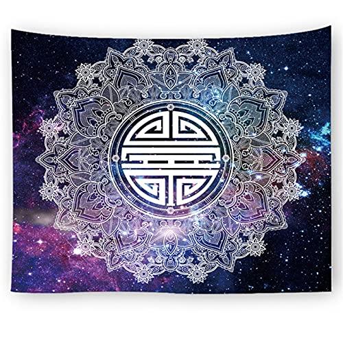 YYRAIN Tapiz De Mandala Tapiz Hippie Decoración Boho Estilo Boho Ropa De Cama Yoga Yoga Meditación 200x150cm C
