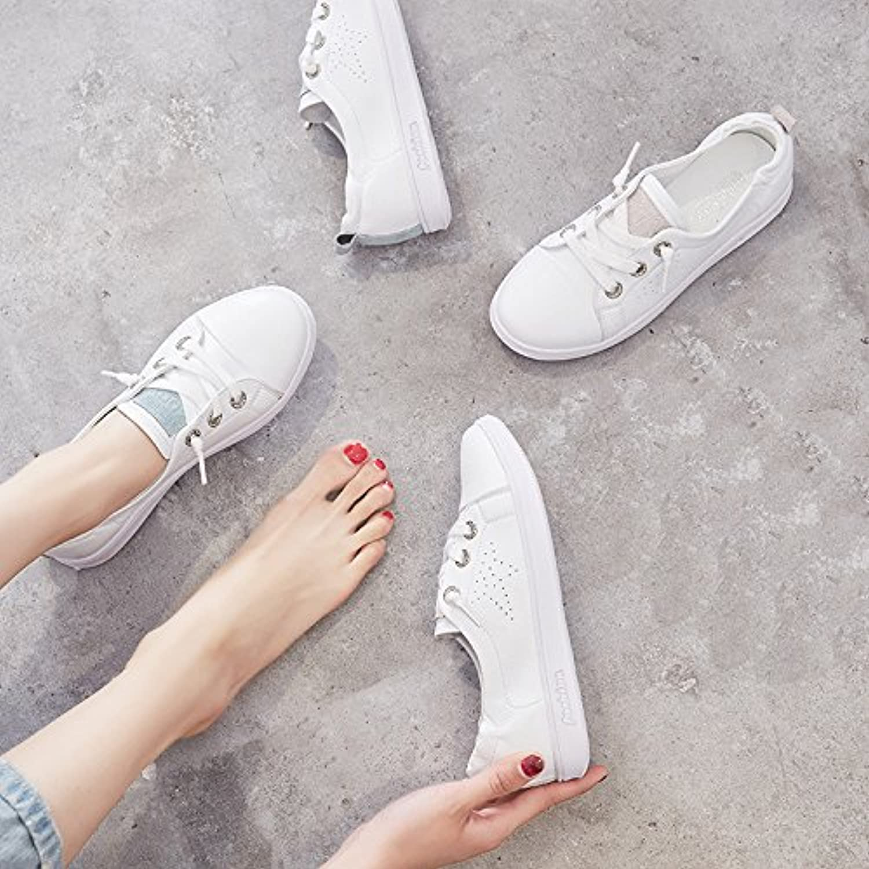 NGRDX&G Weibliche Niedrige Schuhe Der Weißen Weißen Weißen Schuhe Helfen Den Schuhen Der Frauen Beiläufige Schuhe Der Sportschuhefrauen  211fcc