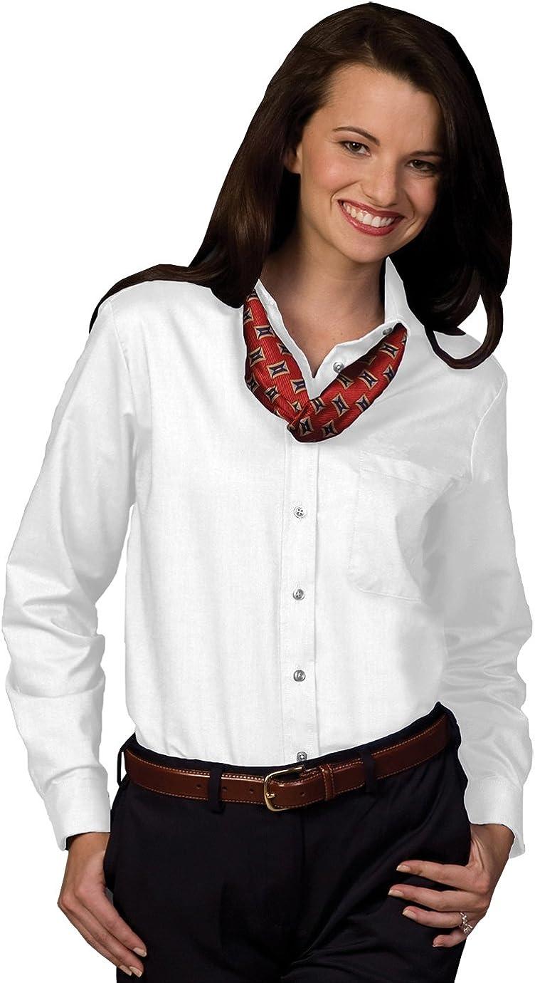 Edwards Ladies' Long Sleeve Oxford Shirt