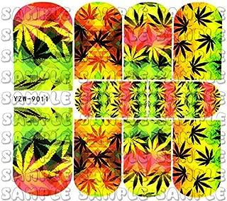Pot Leaf Weed Full Nail Wraps