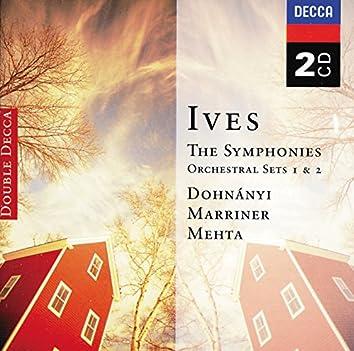 Ives: Symphonies Nos 1-4; Orchestral Sets Nos.1-2