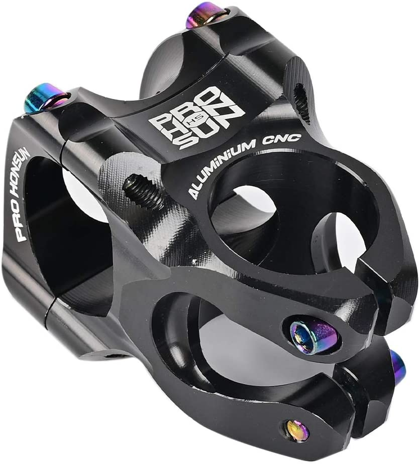 DSstyles High-Strength CNC Handlebar Stem 35 MM Bicycle Stem Aluminum Alloy MTB Mountain Bike Parts