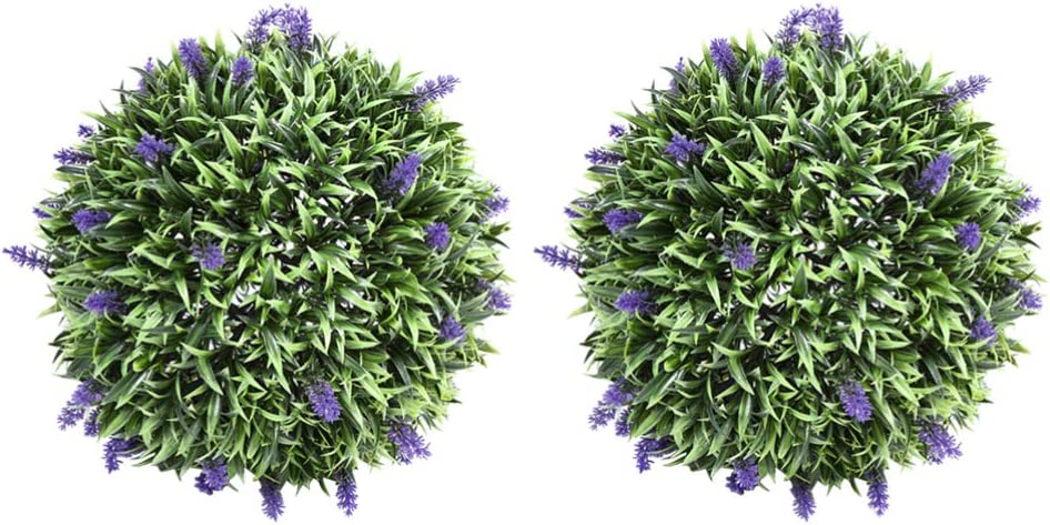discount DOITOOL Fixed price for sale 2Pcs Artificial Green Plant Decorative Balls