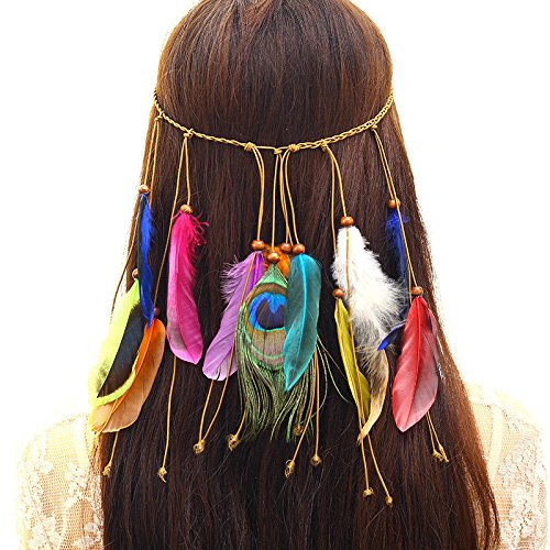 My Dream Day Hoofdband Lichtgewicht Vocht Wicking Multipurpose Haar Band, Vogue Hippy Etnische Wind Hoofddeksels Haar Ornamenten