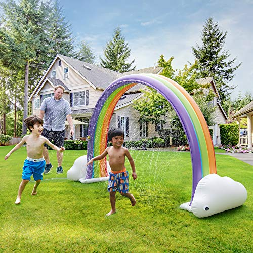 Teamson Kids Regenbogen Planschbecken, Mehrfarben