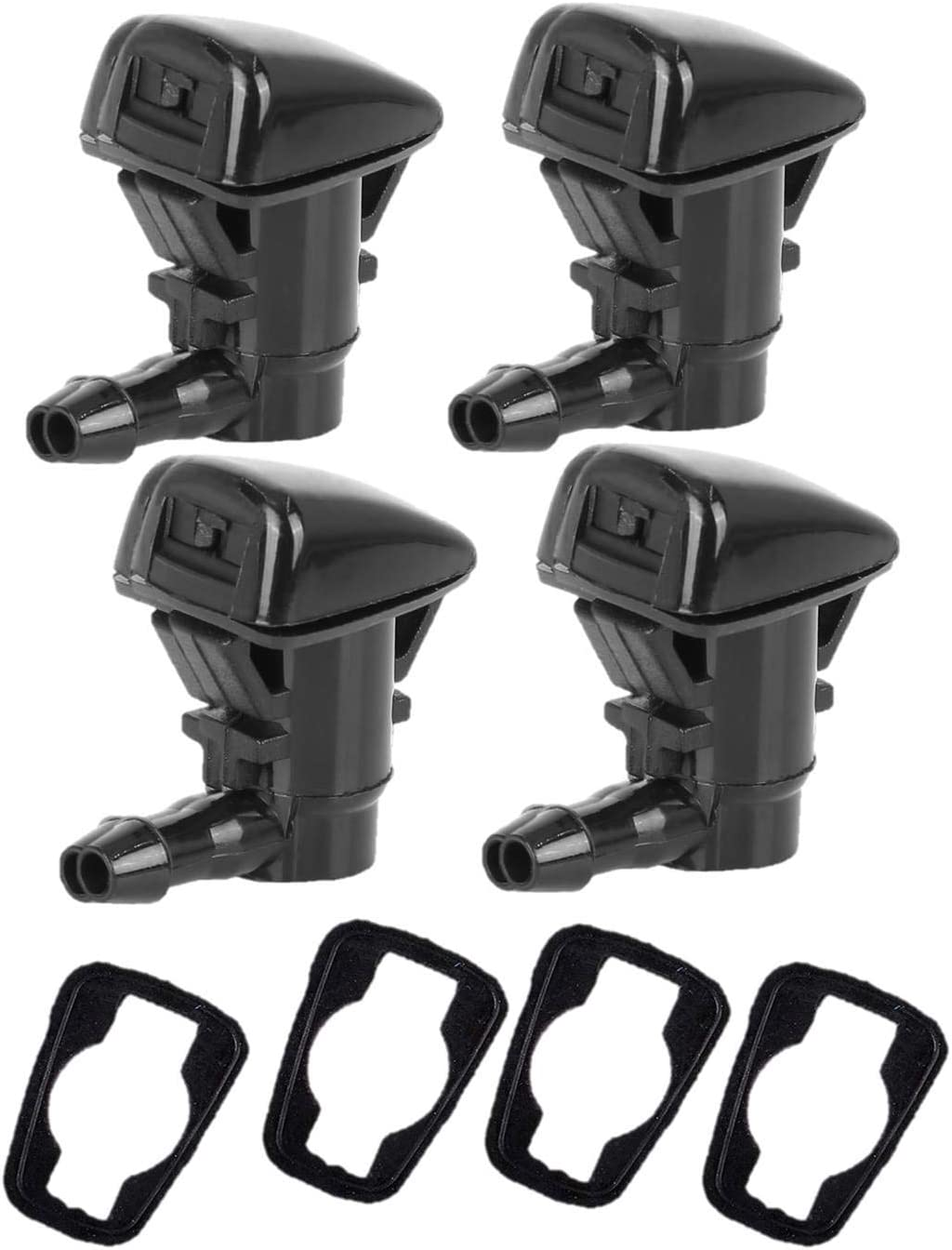 4 Pack Front Windshield Washer 350 F250 with Mesa Mall Compatible Miami Mall Nozzles