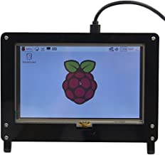 Guhui Case for Raspberry pi 3 Model B 5 Inch Touch Display ( Compatible for LANDZO 5 inch Display )