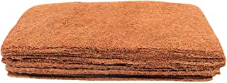 Envelor Coir Plant Cover Coconut Husk Planters Hydroponics Seed Starter 10 x 20 Inches Coco Fiber Mulch Grow Mats, Pack of 10