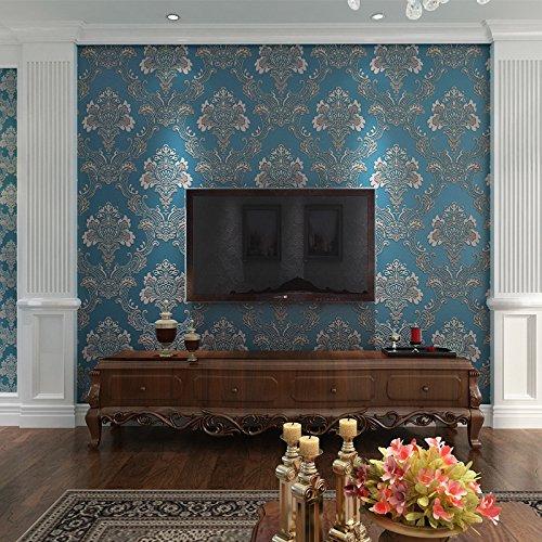 Reyqing Non-Woven Stofftapeten, Europäischen Stil 3D, Dreidimensionale Umweltschutz Non-Woven Textil, Tapeten, Hintergrund, Wohnzimmer, Schlafzimmer,